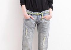 ガウチョパンツ・シルバー靴・デニムジャケット…30代流の選び方とは