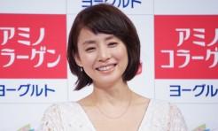 石田ゆり子さん「うるおう女」宣言!美の秘訣はヨーグルト?