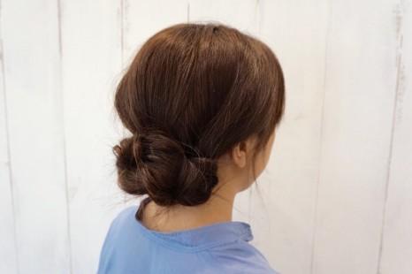 40代にピッタリ!「三つ編み大人アレンジ」のまとめ髪