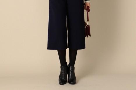 完全着やせ!30代・40代流「ガウチョ」のタイツや靴の選び方