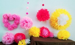 100均材料でDIY!飾り付けに◎ペーパーフラワーの作り方