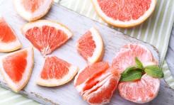 ダイエットに◎朝ピンクグレープフルーツの作り置きレシピ