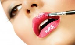 18690595 - professional make-up  lipgloss  lipstick