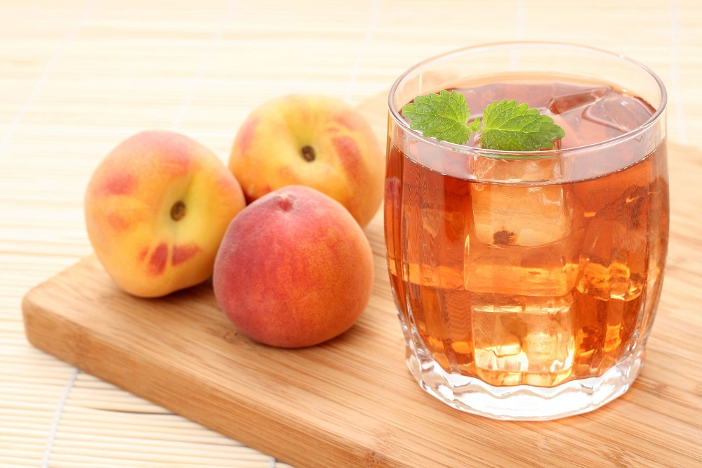 3564410 - glass of fruity ice tea perfect for hot summer