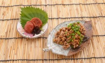 45128990 - fermented soybeans with pickled plum