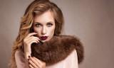 45089941 - beautiful woman in luxury fur coat