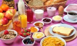 7990768 - full breakfast with organic juice and jam