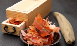 31842559 - dried bonito for japanese soupstock with dried bonito slicer