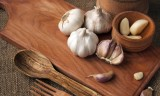 50274879 - garlic ingredients for savory dishes