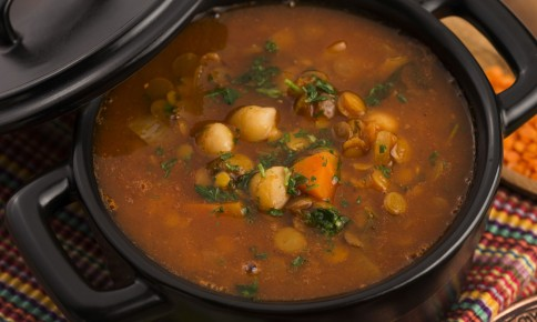 ひよこ豆でイソフラボンを!「ハリラスープ」の簡単レシピ