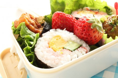 39638024 - homemade sushi roll bento