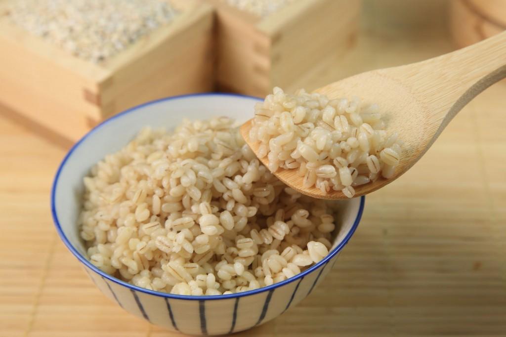 水溶性食物繊維たっぷり!朝ごはん (3)もち麦お粥
