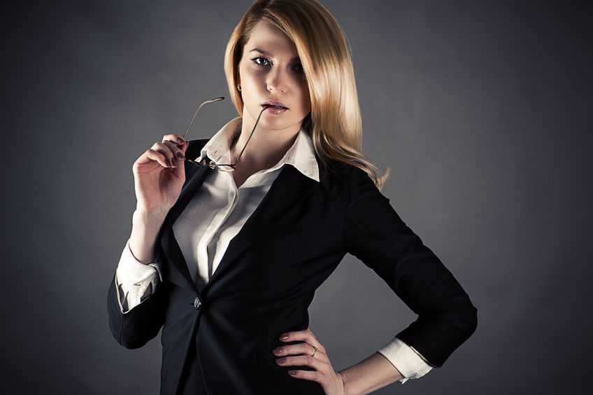 26742443 - portrait of a beautiful business woman