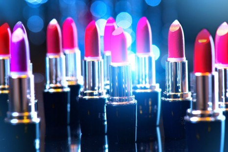 48483591 - fashion colorful lipsticks. professional makeup and beauty