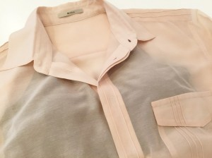 Silk Overシャツ/ミシュケ