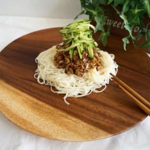 素麺ジャージャー麺