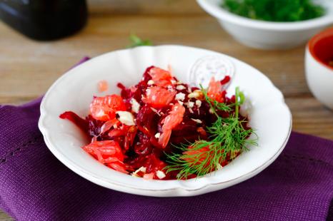 抗酸化力バツグン!9月に食べたい簡単「ワントーンサラダ」