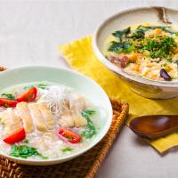 納豆、味噌汁と相性バツグン!「もち麦」の腸活レシピ3つ