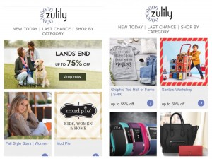 無料の会員登録をすると、日本時間の22時前後にメールマガジンが届くので、ここで「本日出店のブランド」や「人気のアイテム」を確認します。