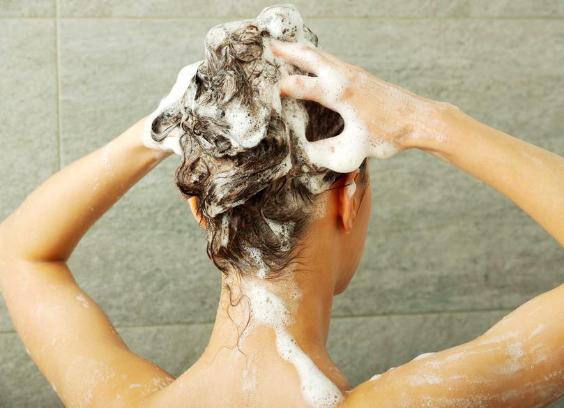 お風呂で3分!シャンプーしながら「二の腕ほっそりエクサ」