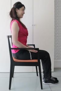 良い姿勢のポイント(座り
