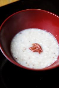 お餅アレンジレシピ3つ (2)炊いた雑穀でOK!お餅で作るとろ〜り粥