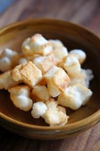 お餅アレンジレシピ3つ (3)ココナッツおかき