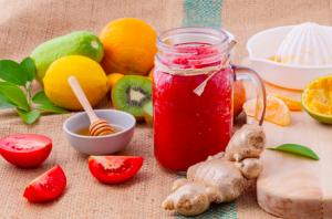 ビタミン豊富な野菜や便秘予防のための食物繊維を積極的に摂る