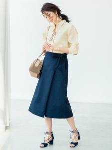 ユニクロのスカーチョはすっきり見えるトレンドデザイン