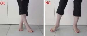 3つ目の首:足首