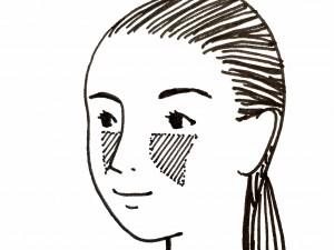 鼻を高くみせるためのポイント