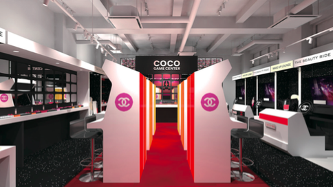 CHANEL BEAUTY EVENT - COCO GAME CENTER