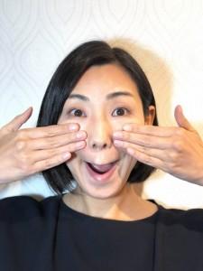 ゴルゴ線をリセットする顔ヨガ3つ 頬の筋肉を鍛える「マントヒヒの顔」