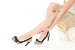 46727209 - woman wearing high heels