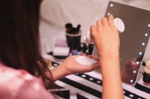 化粧水を「パッティング」するメリット