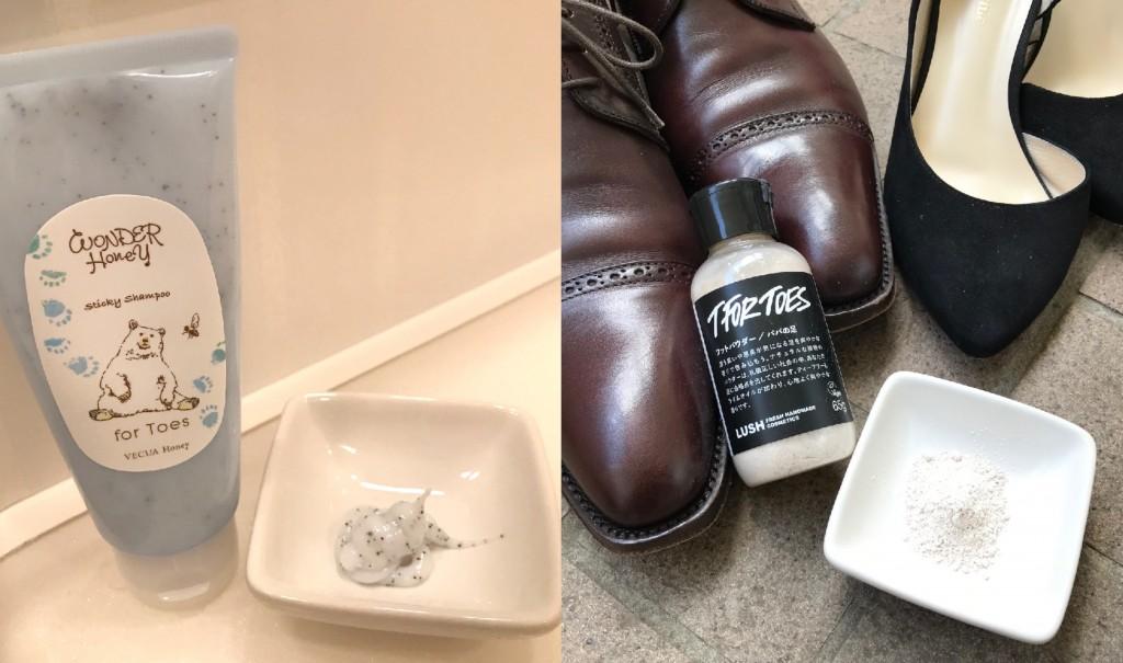 夏の臭い対策に!自宅で簡単にできる足専用ケアアイテム3選