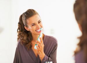 歯茎を磨く