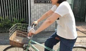 自転車に乗る時のNG姿勢