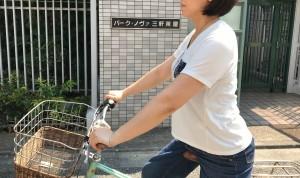 自転車に乗る時のOK姿勢