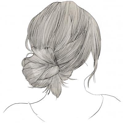 40代ヘアアレンジに◎美容師が教える「簡単お団子ヘア」