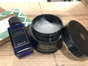 ハダリフト 美容液オイル/ハダリフト モイスチャージェルクリーム/アクアビジュ