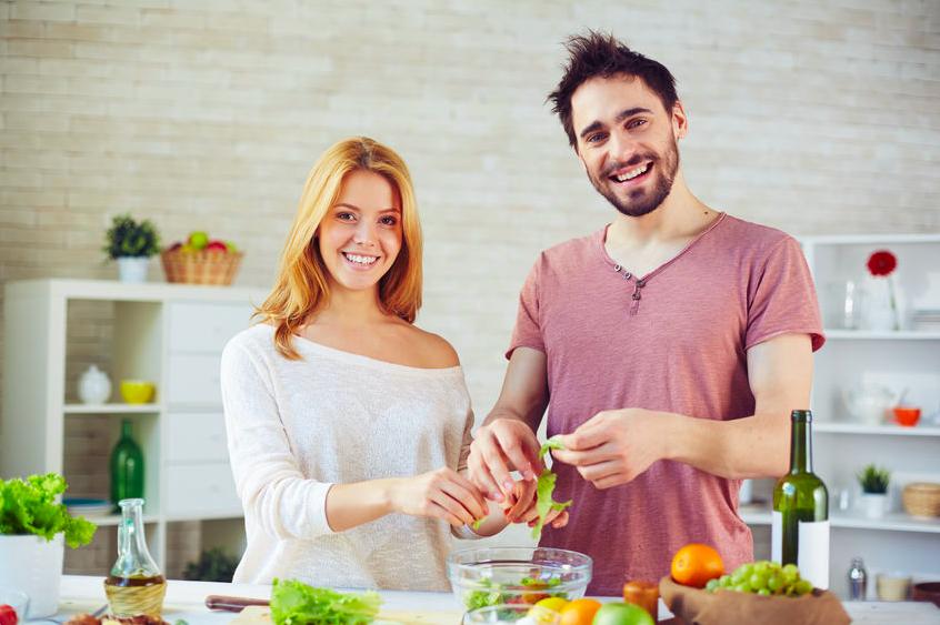 夫婦 幸せ キッチン