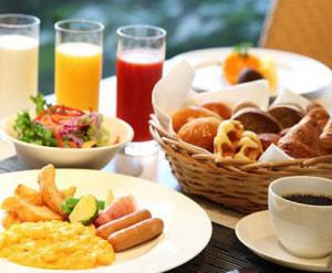 朝食を食べる人はどのくらいいる?