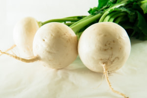 身体を「温める」冬野菜 (1)カブ