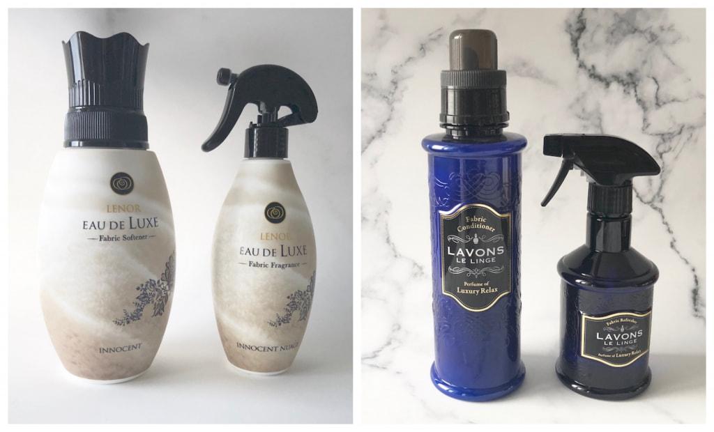 さりげなく上質な香りを放つ!セットで使える柔軟剤&ミスト
