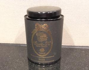 紅茶缶(ローズ)/えの木てい
