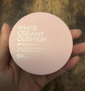 WHITE CREAMY CUSHION(ウユファンデ)/G9