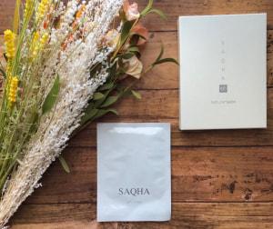 フェイスマスク咲白SAQHA/Natura+Salon