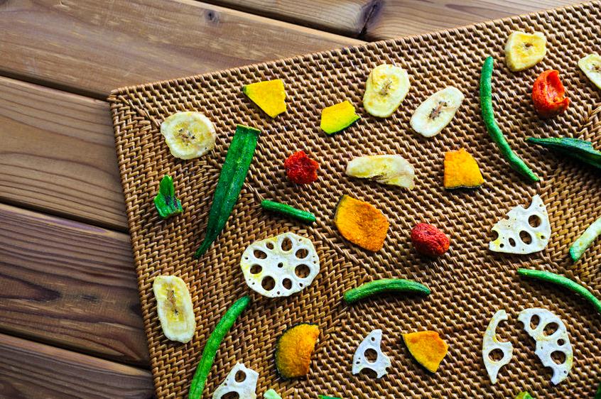 食物繊維たっぷりで腸活に◎干し「野菜&きのこ」の作り方