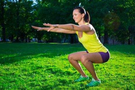 筋力アップで痩せ体質に!「下半身すっきりエクササイズ」